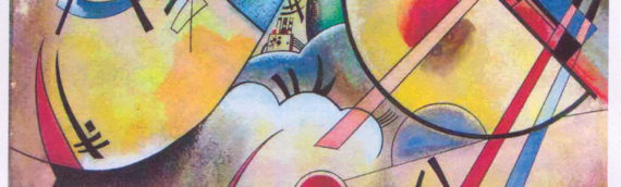 Avant -garde in Vasily Kandinsky's view and Greek Folk Graphic /spindles